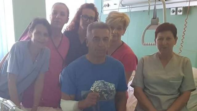 Milinović objavio slike iz bolnice nakon pada: Sreća prati hrabre!