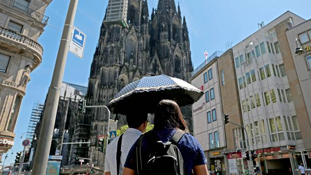 Heat in Cologne