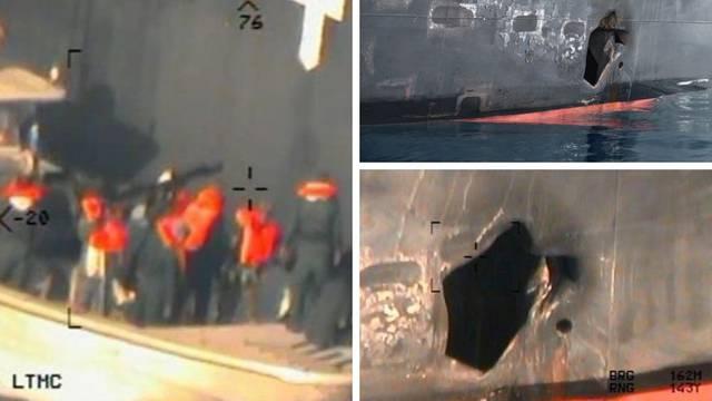 SAD objavio nove fotografije: Ovako su Iranci napali tankere