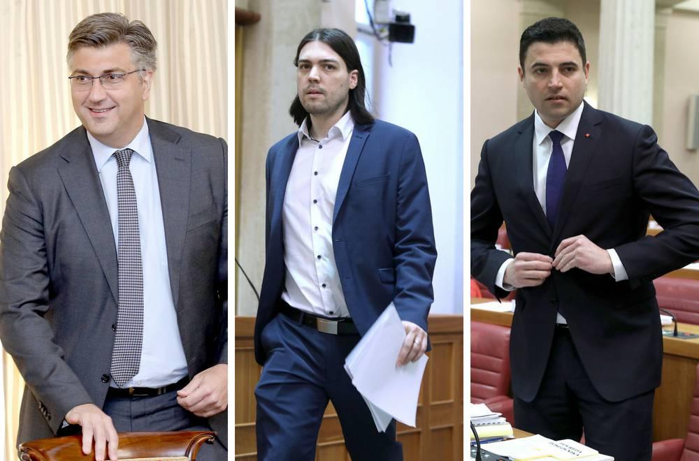 HDZ-u i SDP-u popularnost je narasla, Živi zid gubi potporu