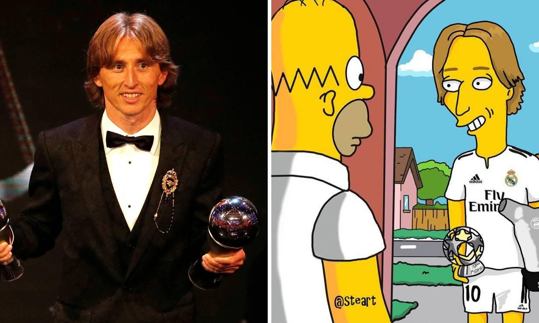 Ikonski! Luka Modrić pojavio se u legendarnim Simpsonima...