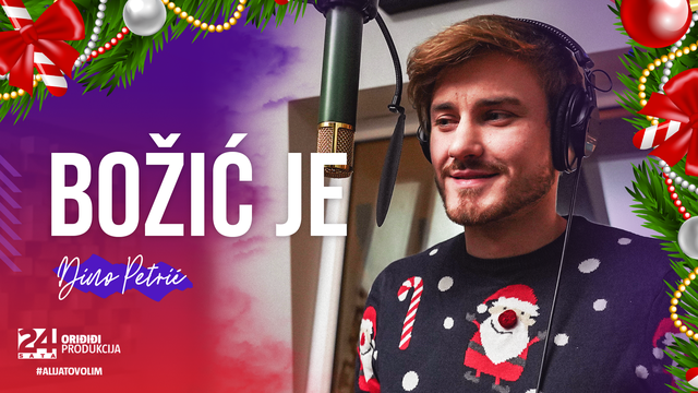 Dino Petrić oduševio s novim blagdanskim coverom, Božić je!