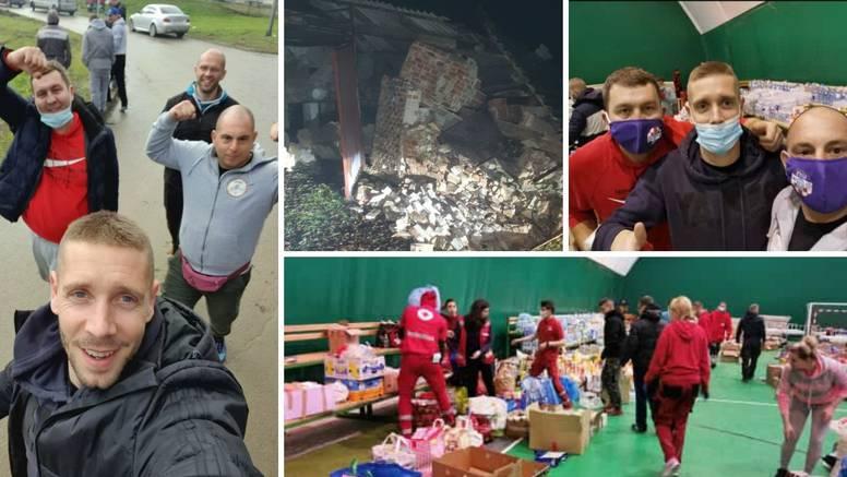 Nogometaš Slavena cijelu noć pomagao u Petrinji: Ljudi su dezorijentirani, u šoku, užas...