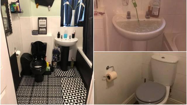 Staru i beživotnu kupaonicu transformirala za samo 500 kn