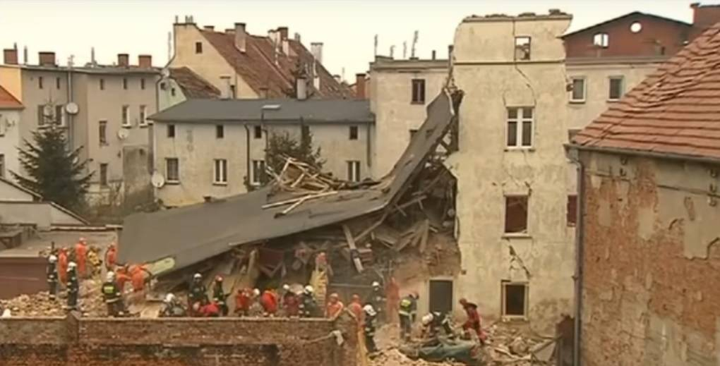 Urušila se zgrada u Poljskoj: Najmanje petero ljudi poginulo
