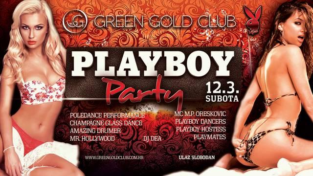 Vikend u Green Gold Clubu u znaku vrućeg Playboy partyja