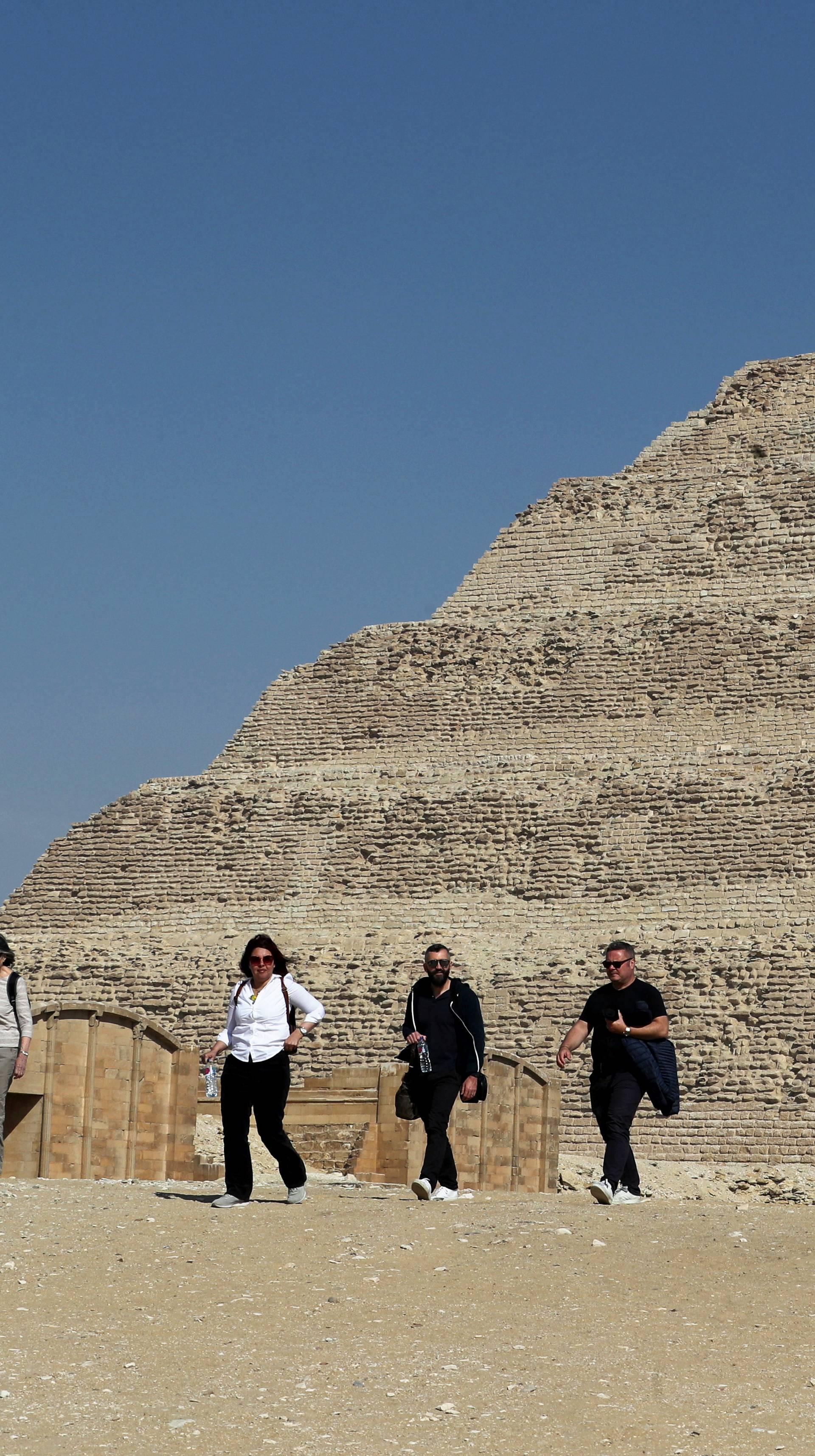 Egipatska piramida stara 4700 g. napokon otvorena za javnost