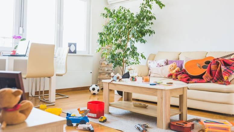 Pet razloga zašto dnevna soba izgleda neurednije nego što je