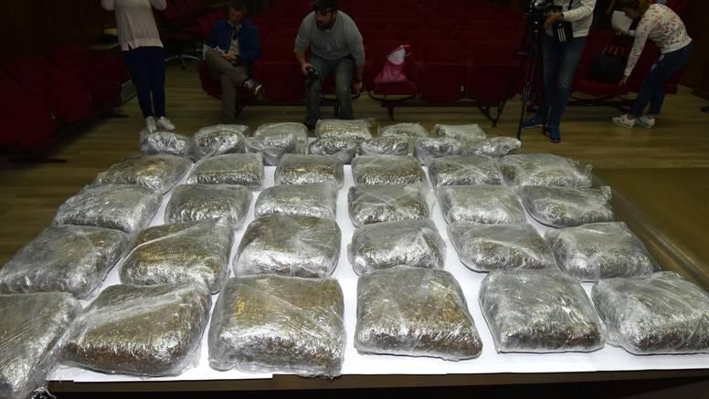 Optuženi za krijumčarenje više od 255 kilograma marihuane...