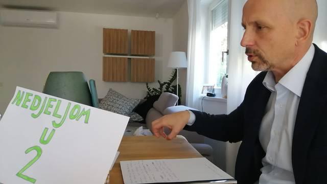 Stanković otkrio detalje prvog online vođenja emisije: 'Bio sam u donjem dijelu trenirke'