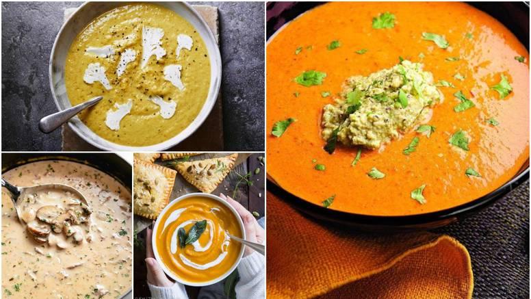 10 ideja za savršene kremaste juhe - idealne za jesenske dane