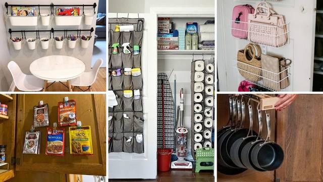 20 ideja za organizaciju stvari u domu, za lakše snalaženje