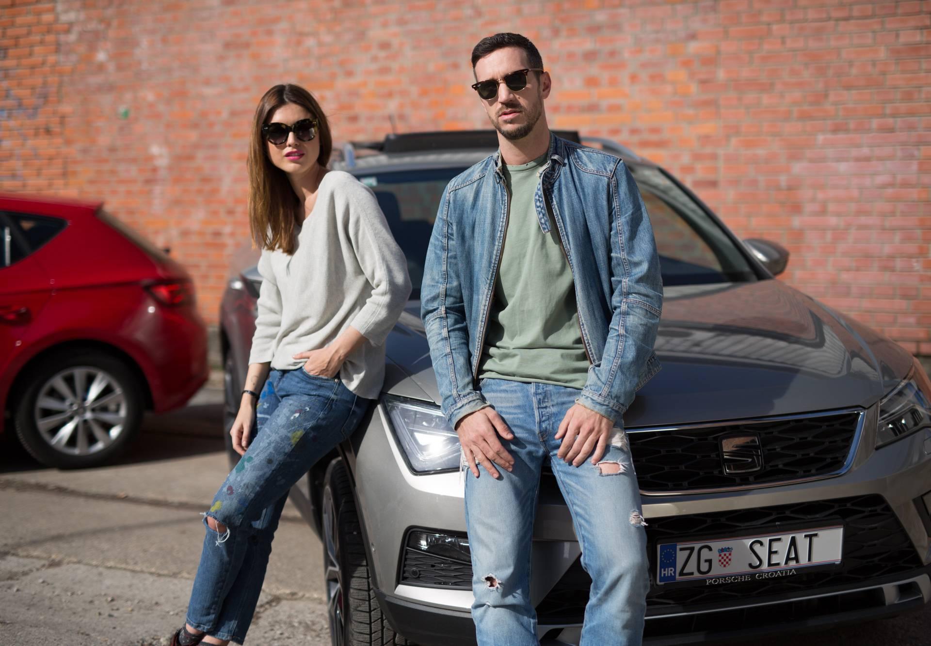 Anita Dujić i Ivan Vukušić su zvijezde SEAT-ove kampanje