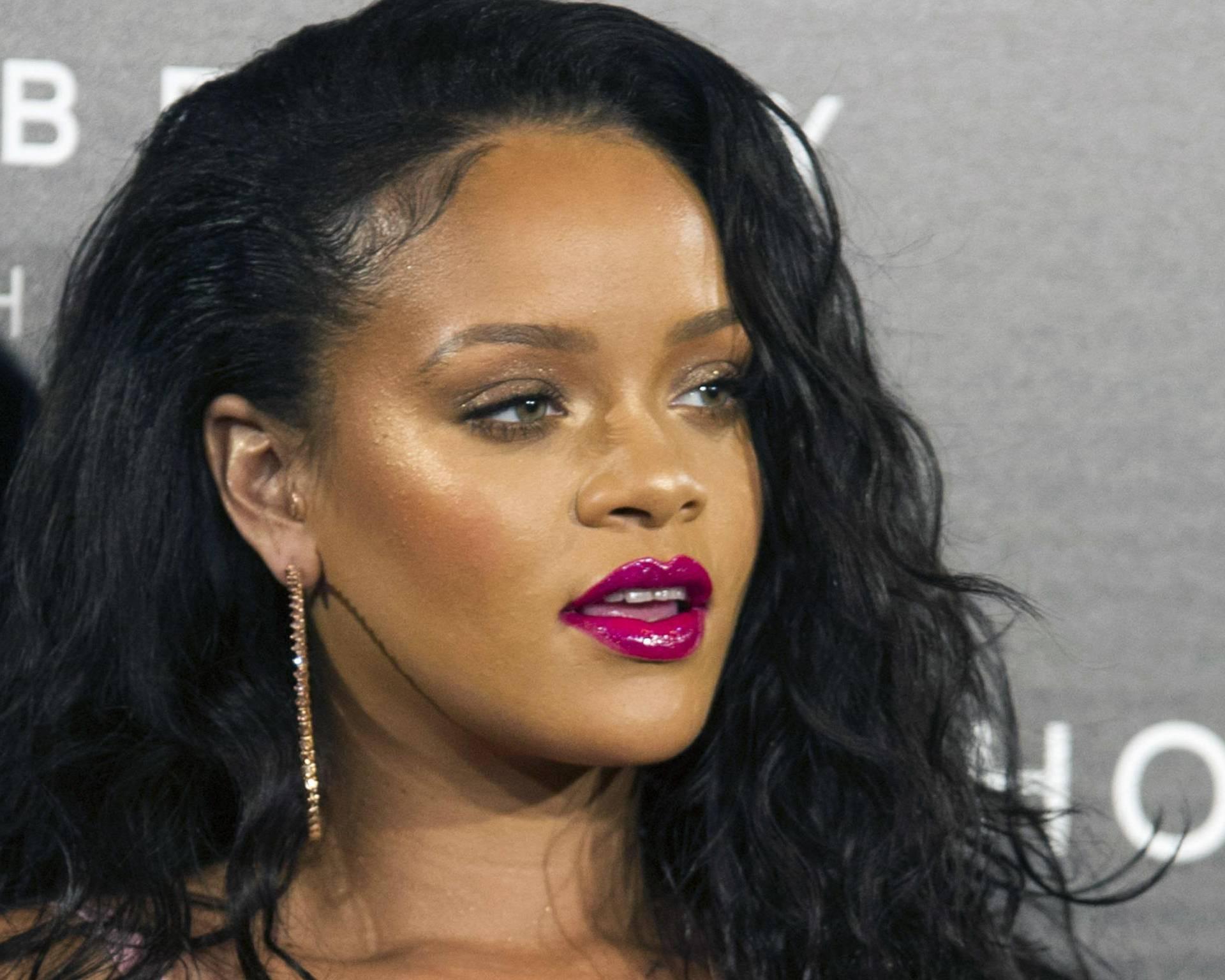 Rihanna Fenty Beauty Launch in Madrid