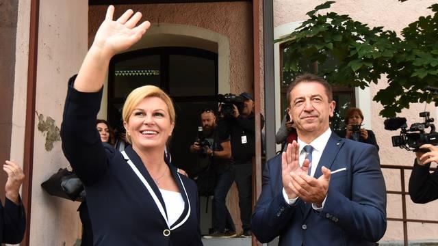 Milinović proveo predsjednicu Grabar Kitarović po Perušiću