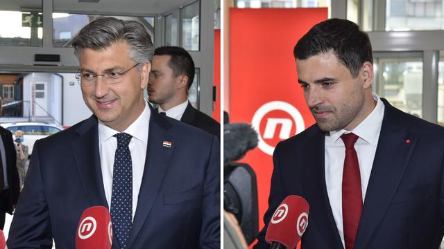 Bernardić: Nemam primjedbi na debatu, Plenković: Pa nadam se da nije bilo dosadno gledati...