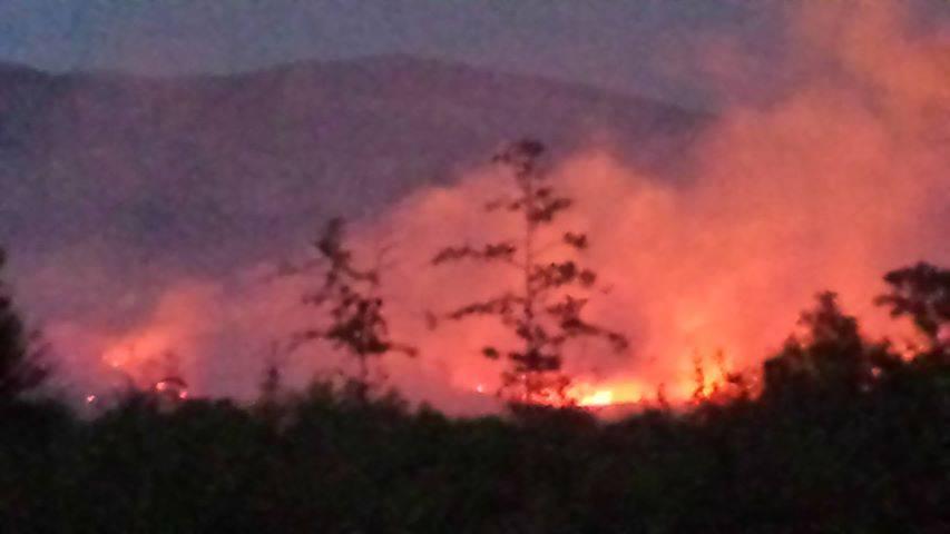 Gori u Promini pokraj Šibenika: Svi ostali požari pod kontrolom