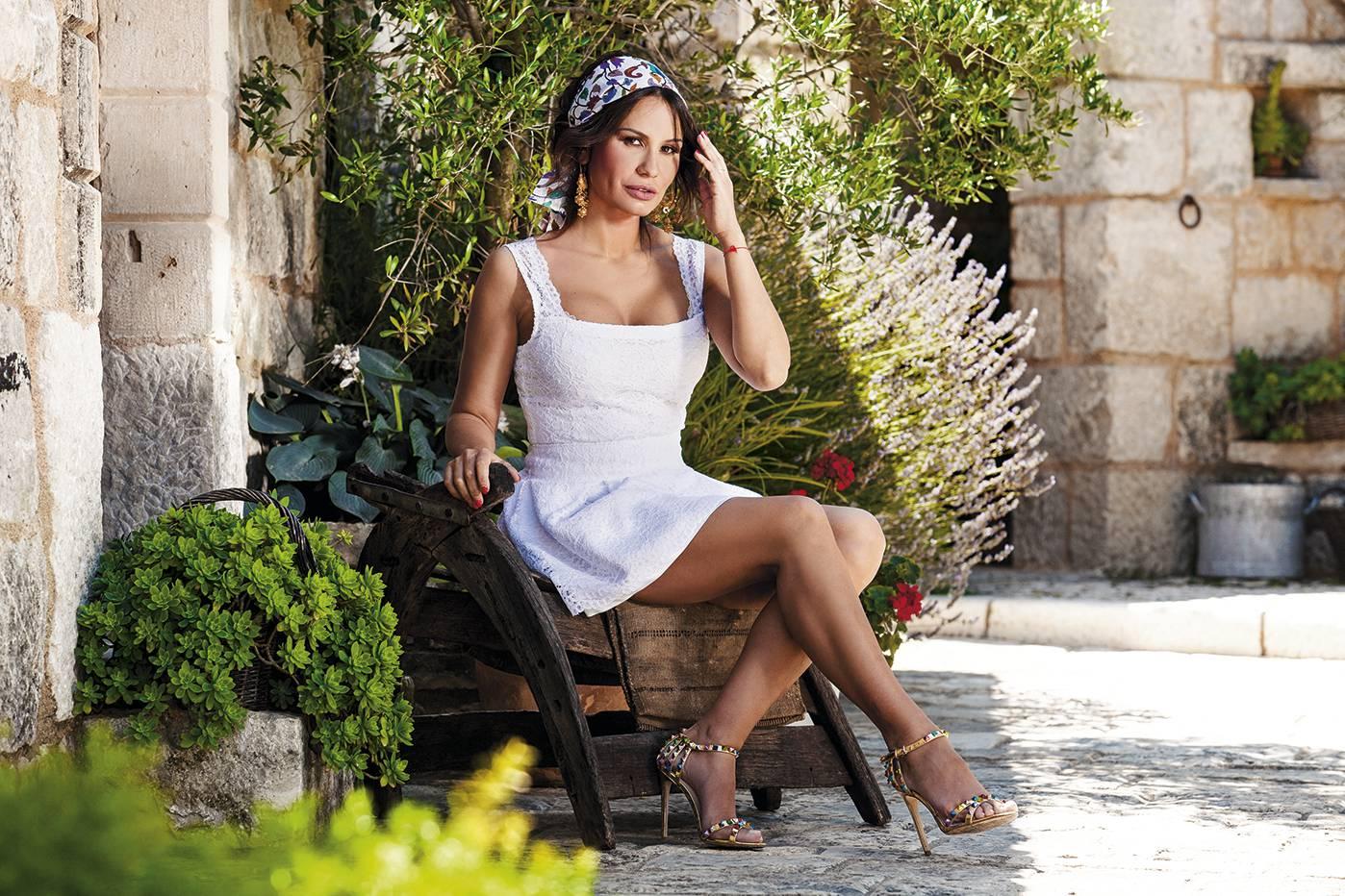 Monika Sablić zasjala je kao model svoje cruise kolekcije