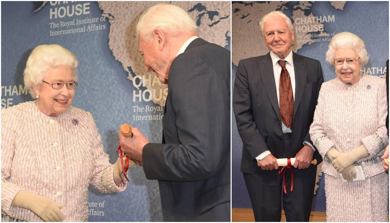 Attenborough od kraljice dobio nagradu za seriju 'Plavi planet'