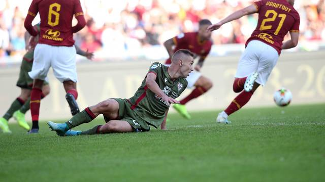 SERIE A SOCCER MATCH: AS ROMA VS CAGLIARI, ROME, ITALY - 06, OCTOBER 2019