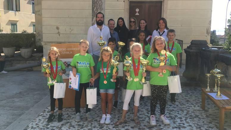 Polaznici riječke škole Malac Genijalac osvojili su 14 pehara na državnom natjecanju