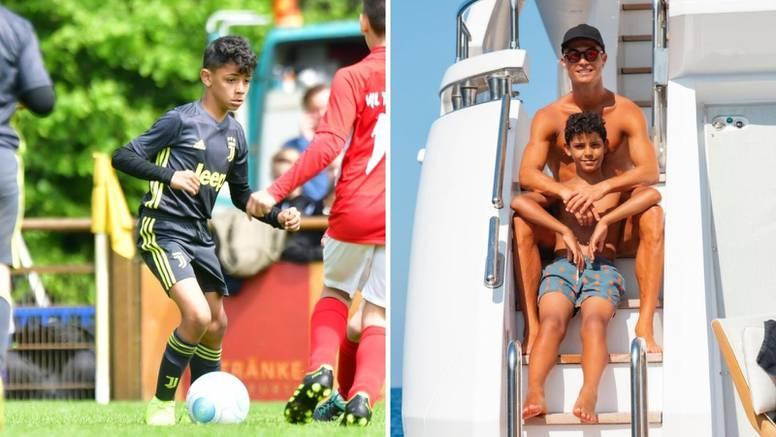 Ronaldova majka: Cristiano Junior igra bolje od mog sina