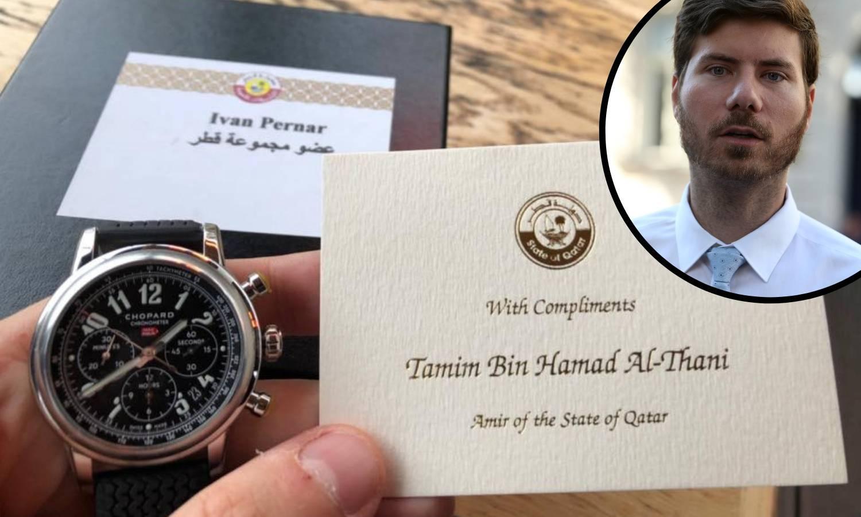 Pernar od emira dobio skupi sat: Hvala, Bog ga blagoslovio!