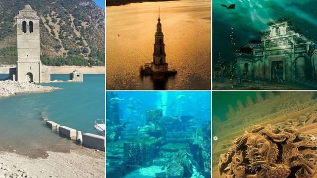 Turističke senzacije: 7 gradova pod vodom koji su prepušteni prirodi, ali dostupni turistima