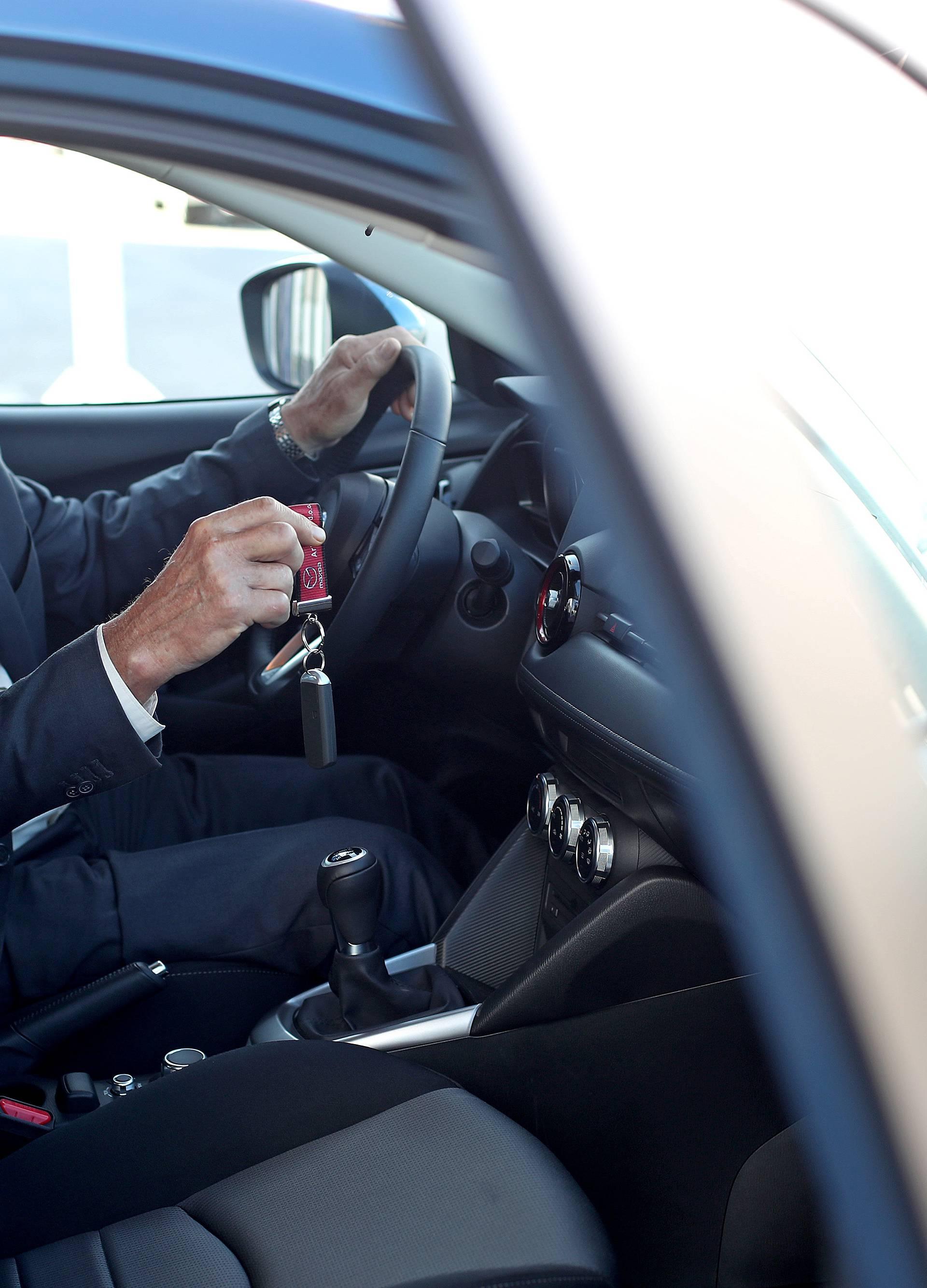 Ivan Galinec osvojio je Mazdu CX-3: 'Savršena je za vožnju'
