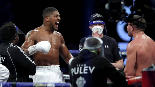 Heavyweight World Title Fight - Anthony Joshua v Kubrat Pulev