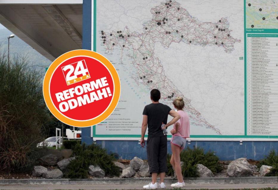 Hrvatska treba biti podijeljena na novih pet regija i  123 općine