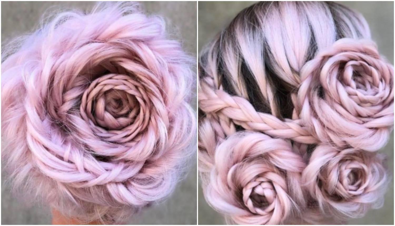 Novi ljetni trend: Pletenice koje podsjećaju na rascvjetalu ružu