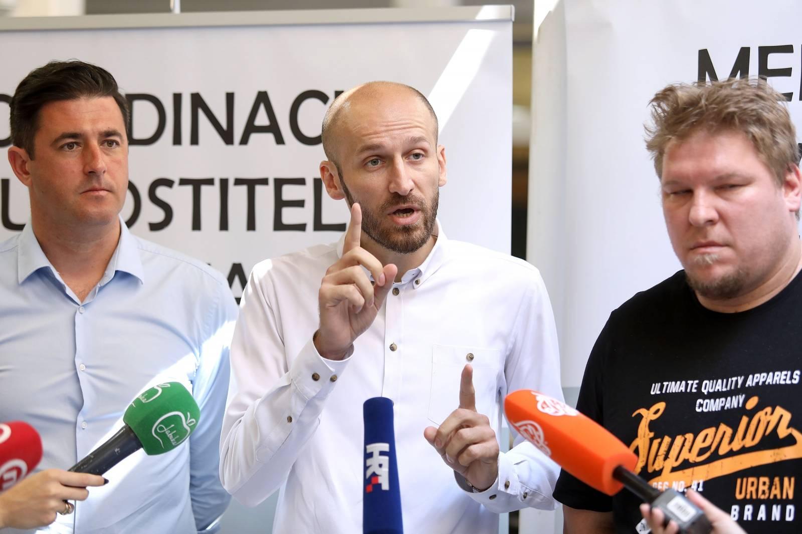Zagreb: Koordinacija ugostitelja predstavila zahtjeve koje će uputiti Vladi