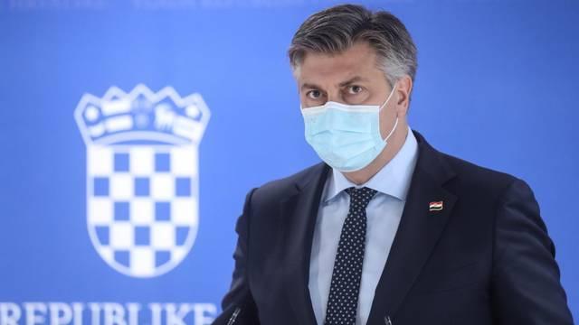 Zagreb: Izjave za medije nakon sjednice Nacionalnog vijeća za uvođenje eura