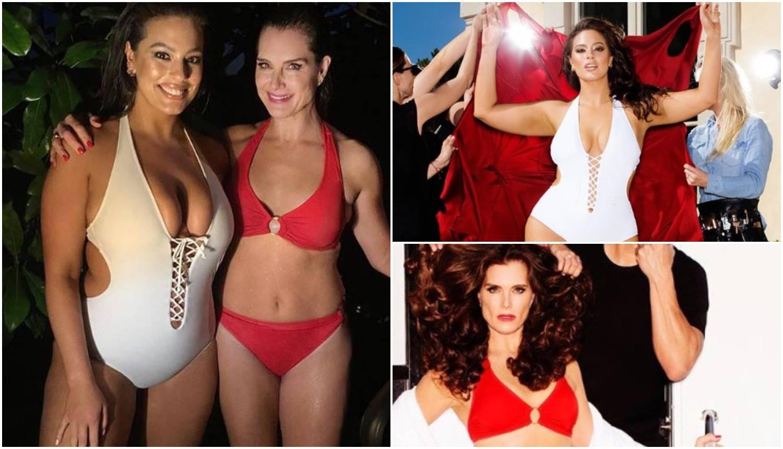 'Brooke (52) u badiću zasjenila plus size model Ashley (30)...'