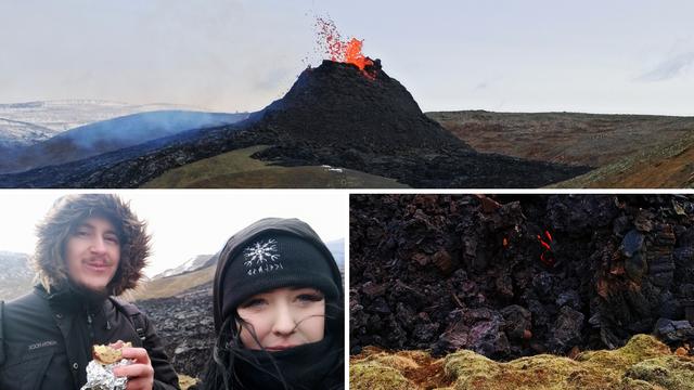 Hrvati pored aktivnog vulkana: 'Osjeća se miris paljevine, na 5 metara je toplo kao pored peći'