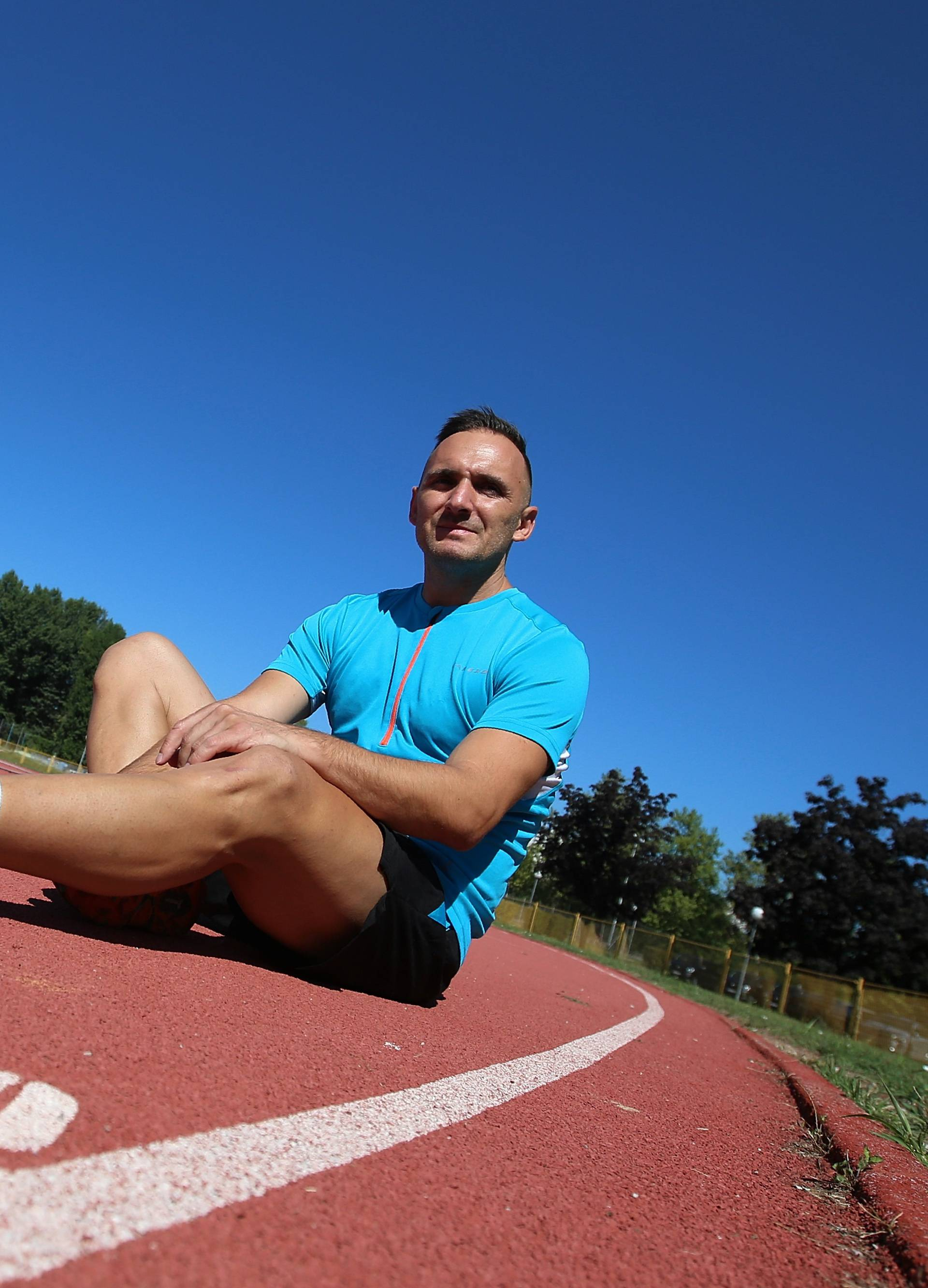 Pretrčat ću Mont Blanc: Marko će rušiti rekord iz 2013. godine