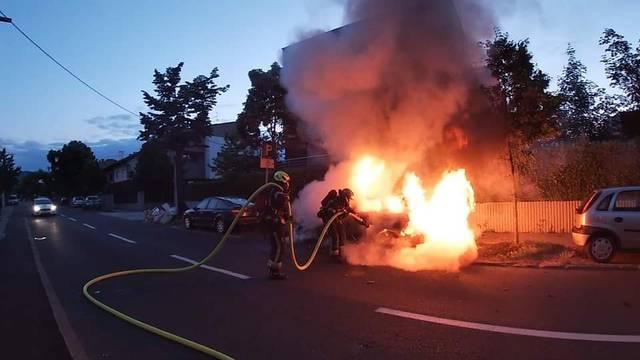 Očevidom utvrdili: Obitelji sa Srebrnjaka netko zapalio auto