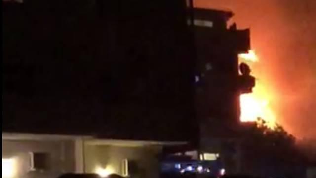 Požar na splitskom Žnjanu: Izgorio hektar niskog raslinja