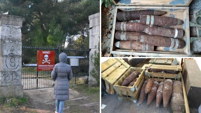 U Puli našli eksploziv:  Policija pokupila 2000 granata, ima još