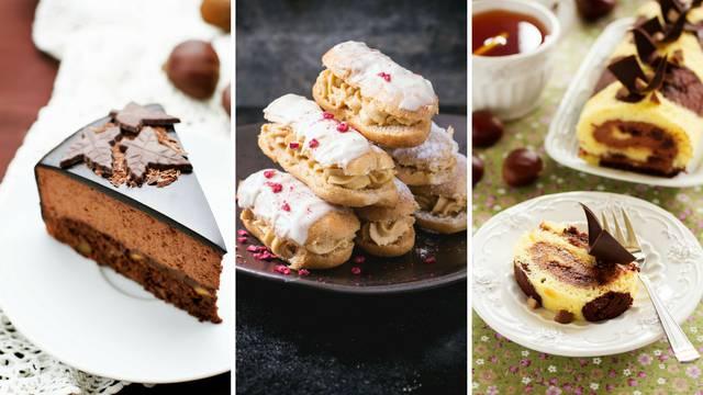 Prefini kolači od kestena: Lako ih je napraviti, a vrlo su ukusni