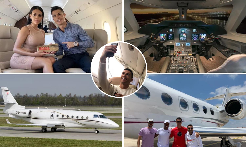 Pogledajte kakav je Ronaldov Gulfstream od 23 milijuna eura