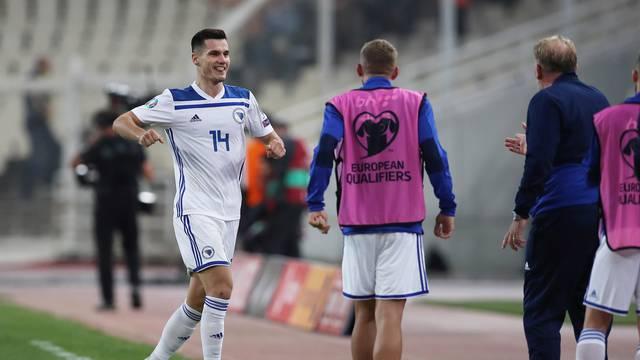 Euro 2020 Qualifier - Group J - Greece v Bosnia and Herzegovina