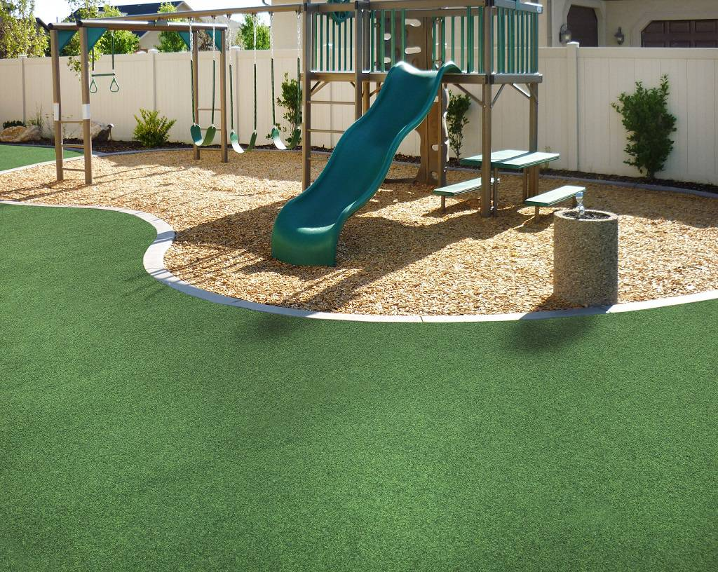 Backyard Playground Surface Ideas Playground For Small Backyard