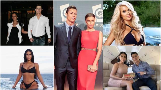 U Cristianov krevet ulazile su većinom manekenke: Ljubio je Irinu, a zaveo Kim i Paris Hilton