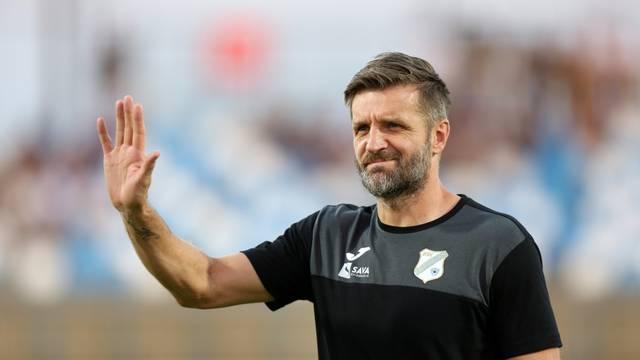 Velika Gorica: Reakcije Igora Bišćana tijekom utakmice Rijeke i Gorice