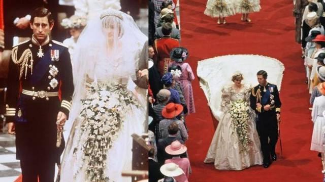 Princeza Diana bila je visoka koliko i Princ Charles - zato je na vjenčanju nosila niske cipele
