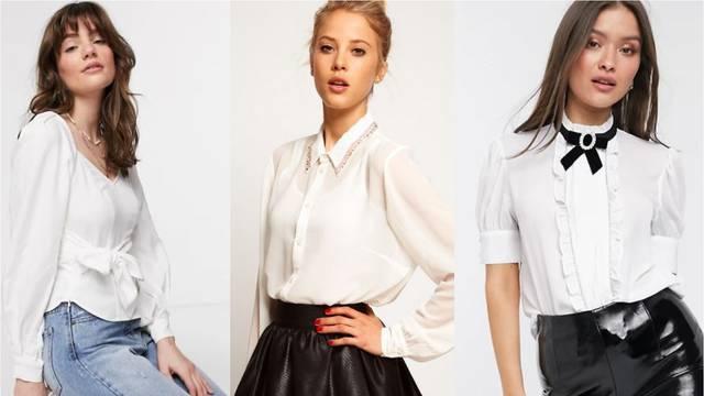 Bijela košulja kao jedinstveni komad: Stilizirajte je ogrlicama