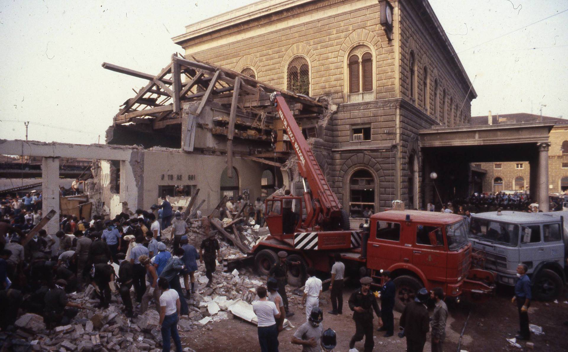 Italy, Bologna: 85 people killed in attack at railway station August 2, 1980