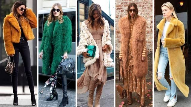 Top 20 kombinacija s umjetnim krznom: Kaputi, jakne, prsluci